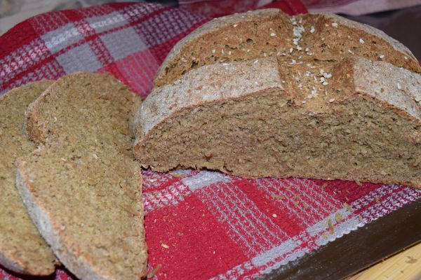 Содовый ржаной хлеб